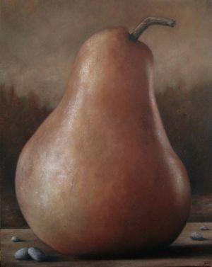 Pear with Stones
